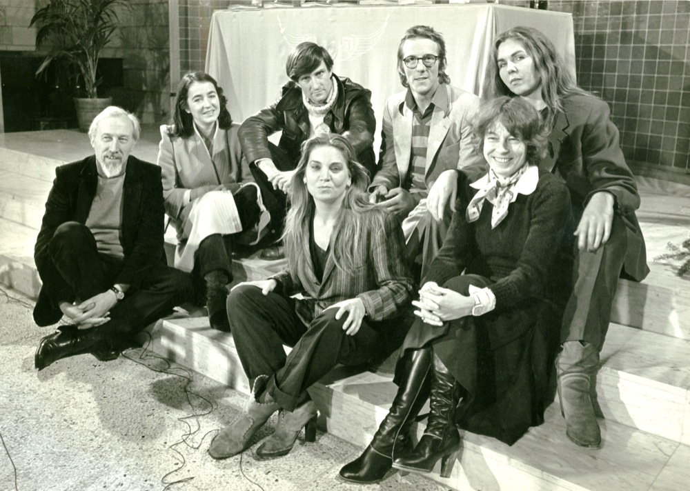 Met de redactie van het tv-programma Denkbeeld van de NOS, dat hij in het seizoen 1979-1980 presenteerde.
