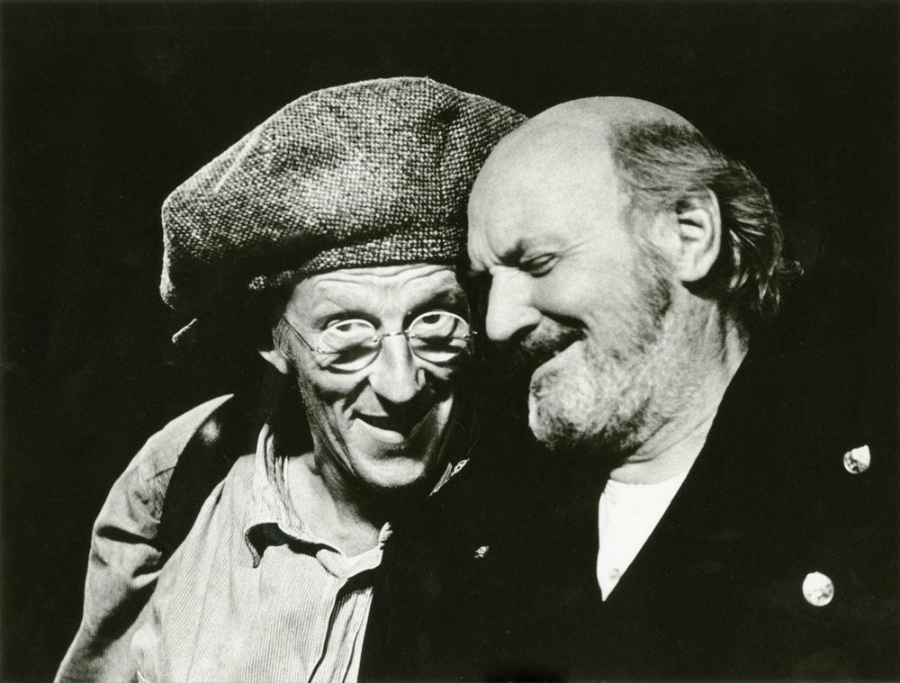 De Nar en Koning Lear (André van den Heuvel).