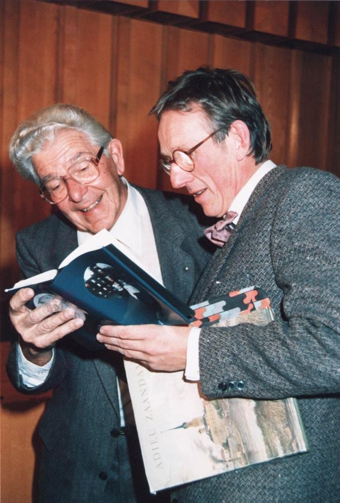 Met toenmalig burgemeester Thomassen.