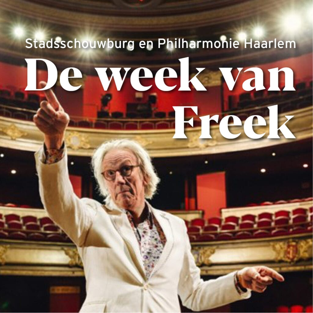 Afbeelding voor voorstelling De Week van Freek in Haarlem